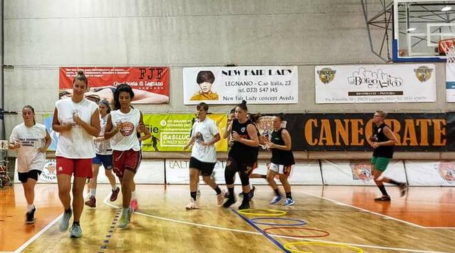 Bulldog Basket Canegrate Serie B femminile 2020/21