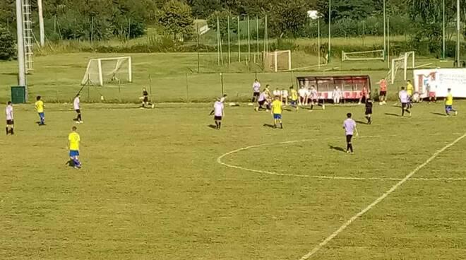 Calcio amichevole Ardor Lazzate-Legnano 1-1