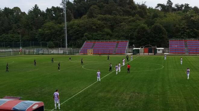 Calcio amichevole Gozzano-Legnano 4-3