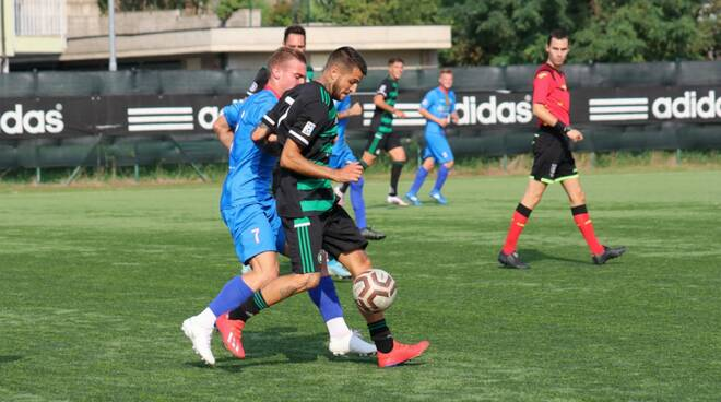 Castellanzese-NibbionnOggiono 0-1 calcio amichevole