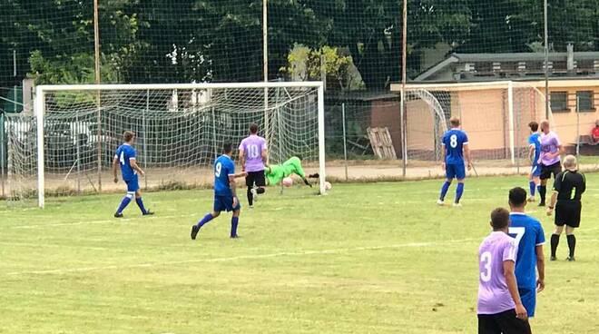 Legnano-Fulgor Valdengo 2-0 Il gol di Cocuzza dell'1-0