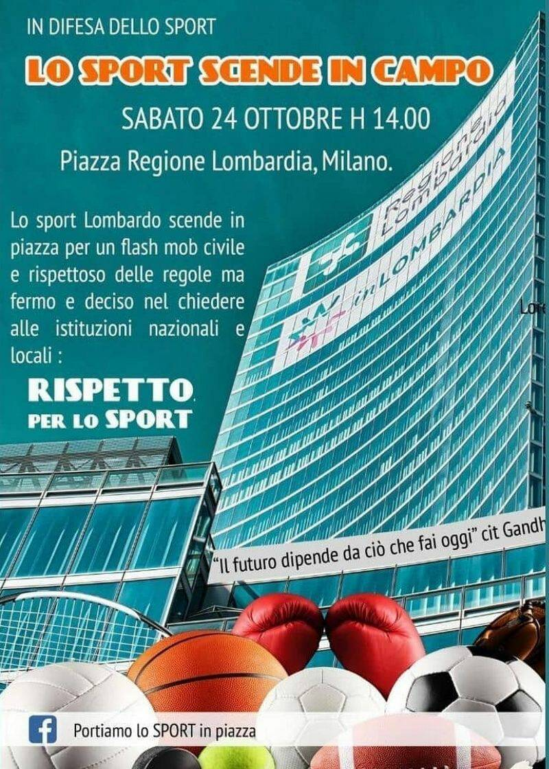 Flash mod Piazza Regione Lombardia Sport