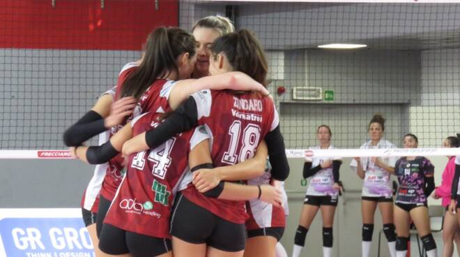 Futura Volley Giovani-Exacer Montale 3-0