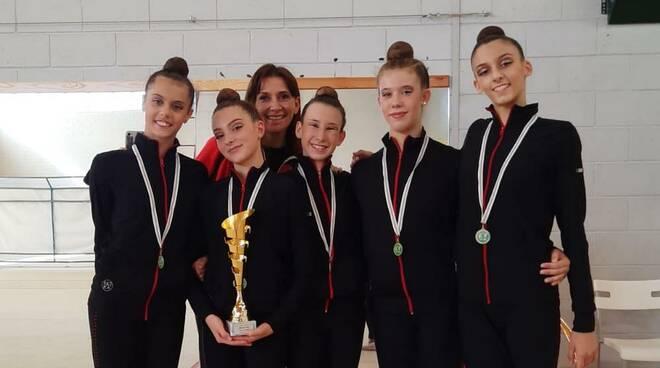 Ginnastica Moderna Legnano Campionesse Regionali