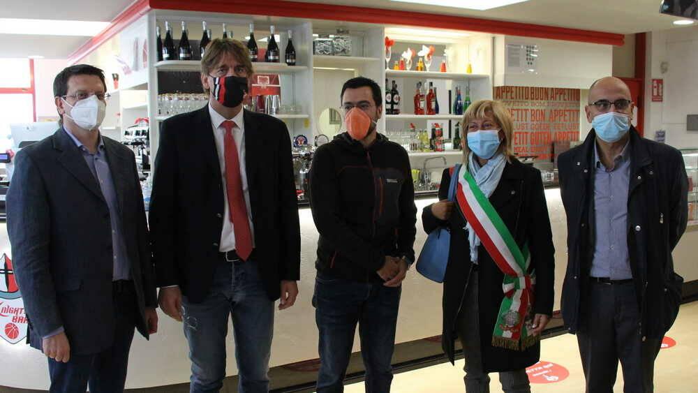 Inaugurazione Knights Bar PalaBorsani Castellanza