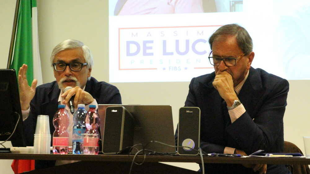 Massimo De Luca candidato Presidente FIBS
