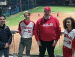 Niccolò Crespi a casa del Legnano Baseball Softball