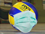 Pallone volley mascherina