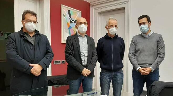 Sindaco Legnano Lorenzo Radice incontro Associzione Medici di Legnno