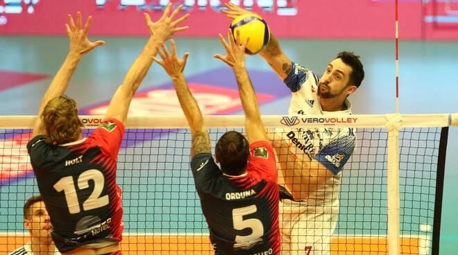 Vero Volley Monza-Allianz Powervolley Milano 1-3