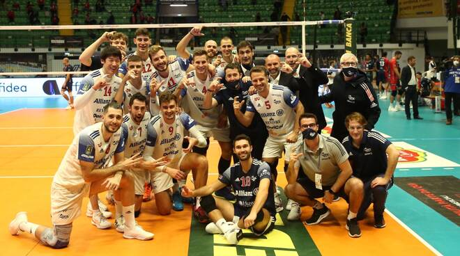 Vero Volley Monza-Allianz Powervolley Milano 1-3