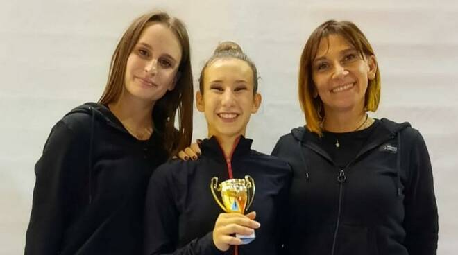 Ginnastica Moderna Legnano Alice Pompeo Elisa Porchi e Veronica Bertolini
