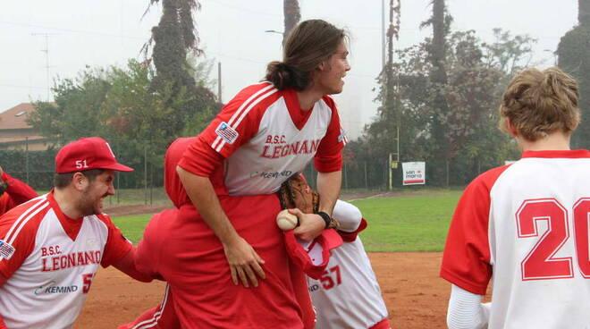 Legnano Baseball-Rho Baseball 5-4 semifinale playoff Serie C