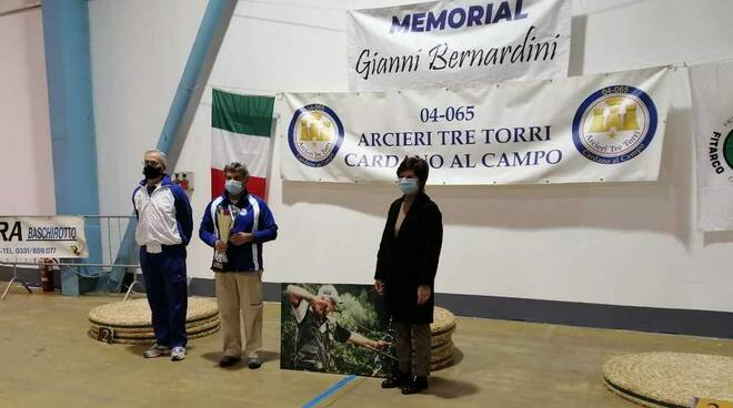Memorial Gianni Bernardini Tiro con l'arco Arcieri Tre Torri MalpensaFiere