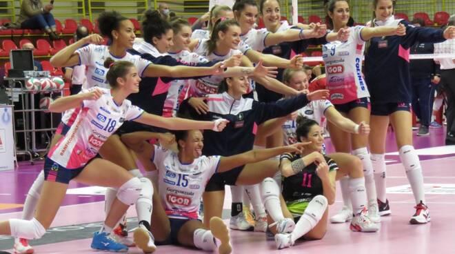 Uyba-Igor Gorgonzola Novara 0-3