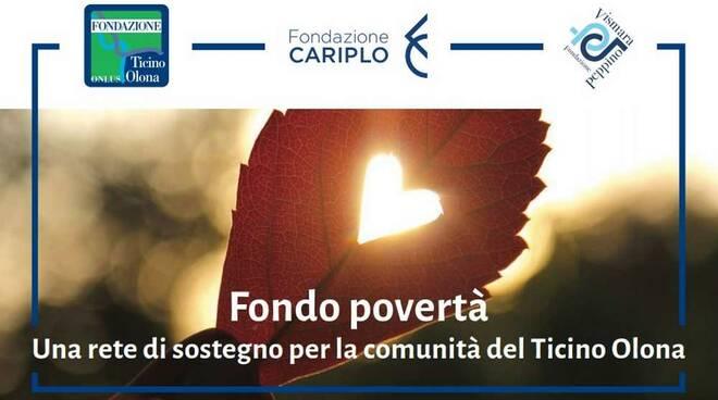 Fondo povertà Fondazione Cariplo Fondazione Ticino Olona