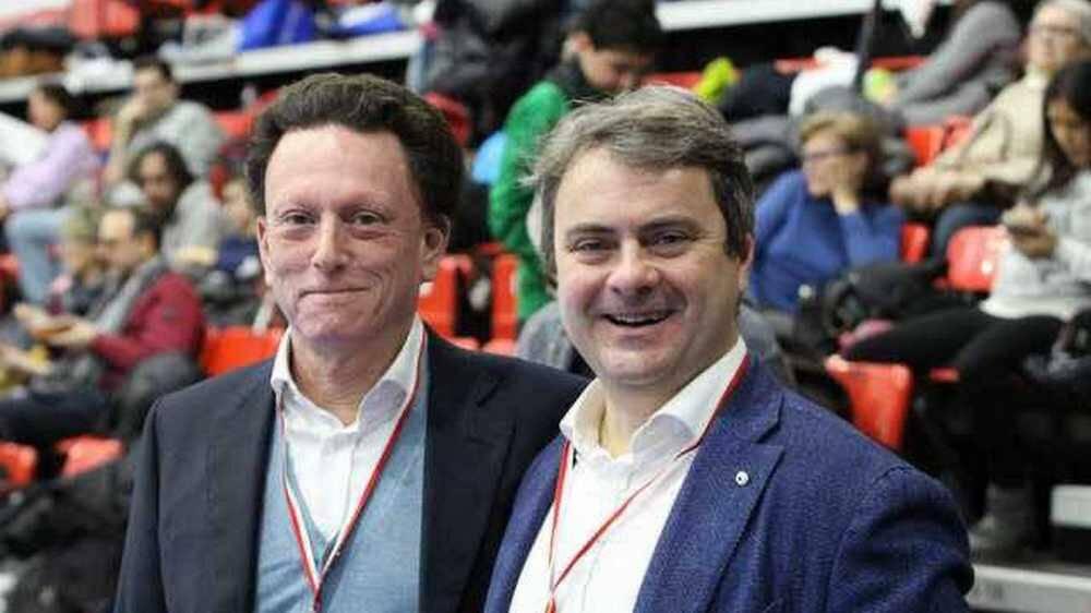 Giuseppe Zalum e Daniele Zanardo Club Scherma Legnano