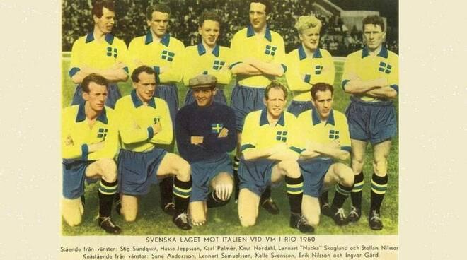Karl Erik Calle Palmer Svezia Mondiali 1950