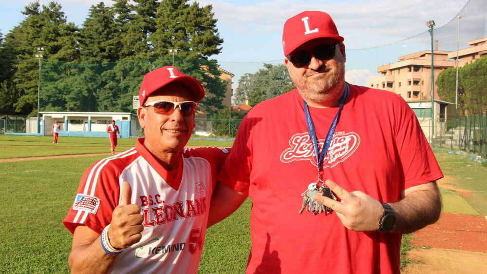 Roberto Medina Massimo Gioachini Legnano Baseball