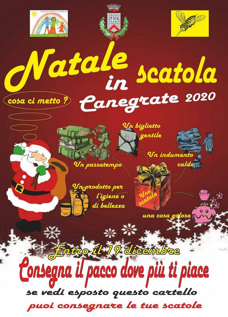 Natale in scatola Canegrate