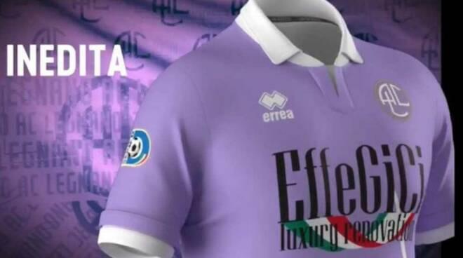 Nuova maglia lilla A.C. Legnano