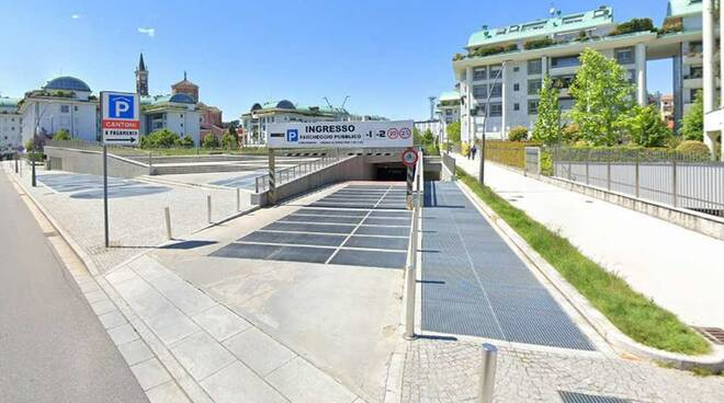 Parcheggio comunale Area Cantoni