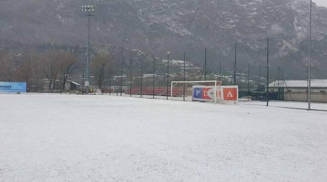Campo sportivo Montjovet Pont Donnaz HAE