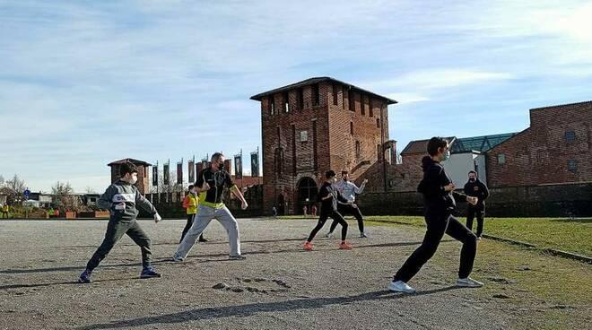 Dojo Shorei Shobukan Legnano allenamenti Castello di Legnano