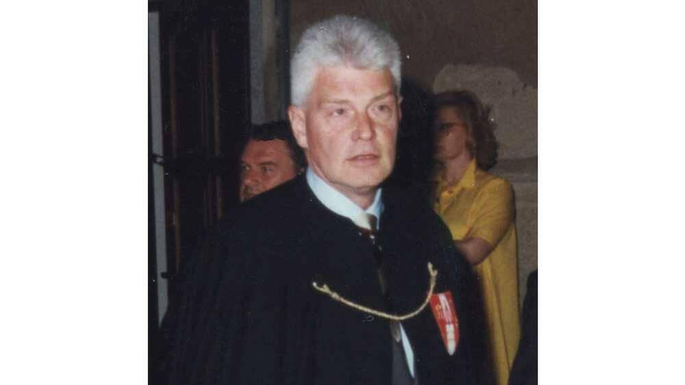 Emilio Ardo Gran Priore Contrada San Magno