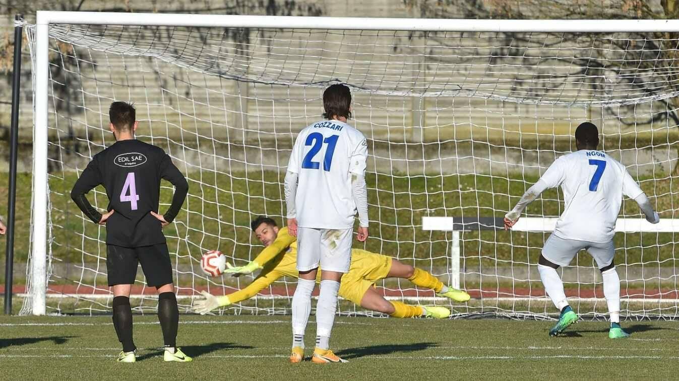 Folgore Caratese-Legnano 1-1 Russo para il rigore a Ngom