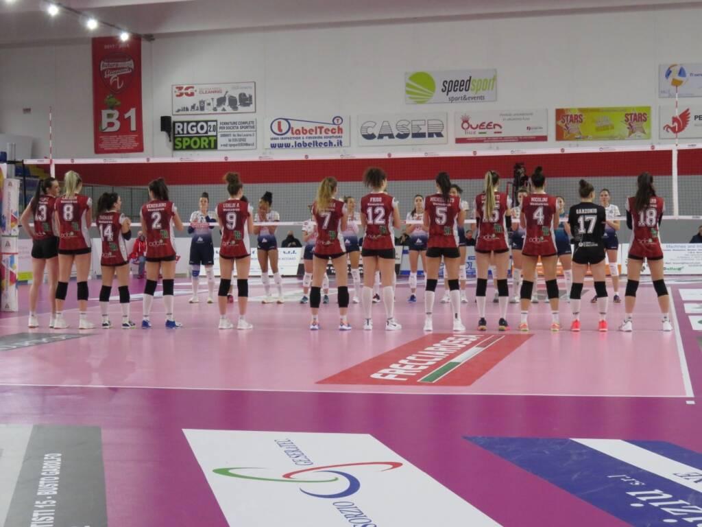 Futura Volley Giovani-Lpm Bam Mondovì 1-3