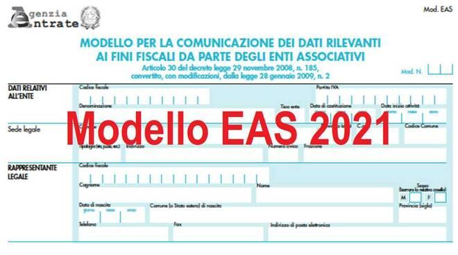 Modello EAS 2021