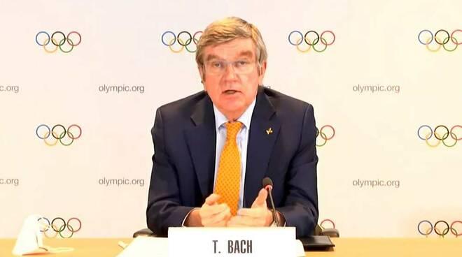 Olimpiadi Tokyo 2021 Presidente CIO Thomas Bach