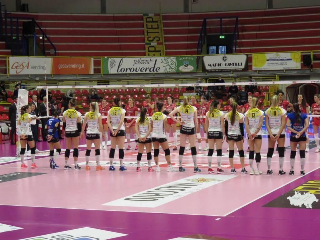 Uyba-Millennium Brescia 3-1