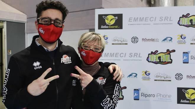 Ilaria Nebuloni e Mattia Ceriotti