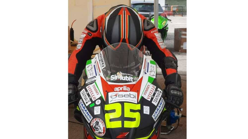 Leonardo Abruzzo Bierreti Racing Aprilia 250