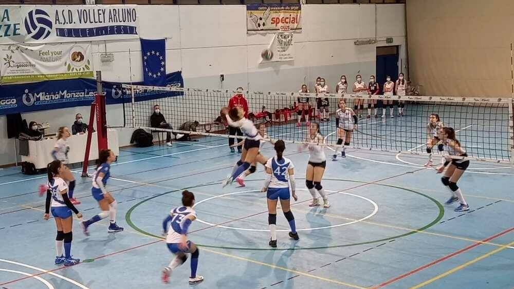 Volley Arluno-FO.CO.L. Volley Legnano 3-0 Volley femminile Under 15