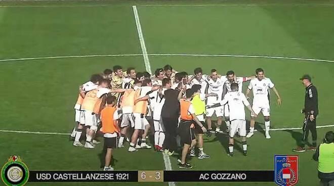 Castellanzese-Gozzano 6-3