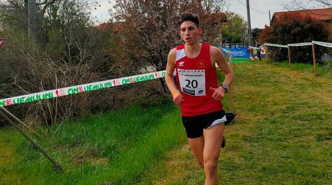 Gabriele Lisciandro Atletica San Vittore Olona