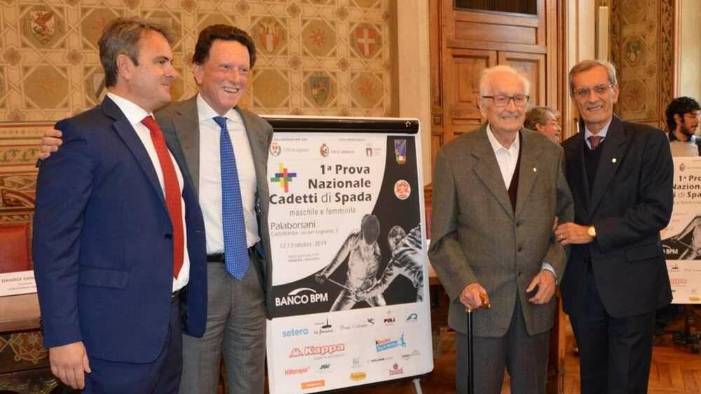 Valerio Fedeli Club Scherma Legnano