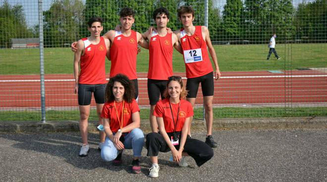 Atletica San Vittore Olona gara staffette Cairate