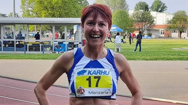 Barbara Martinelli Atletica leggera master