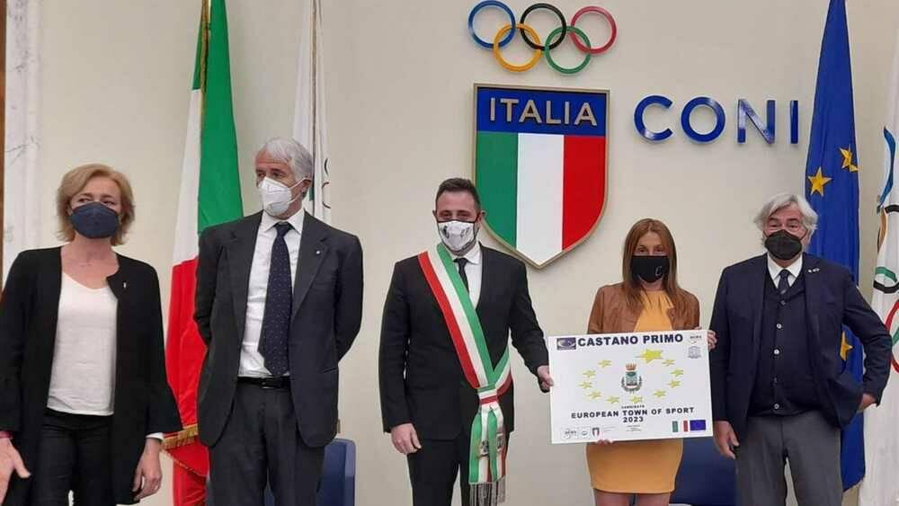 Castano Primo candidato Comune Europeo dello Sport