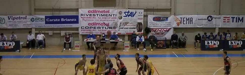 Team Battaglia Mortara-Knights Legnano 60-69