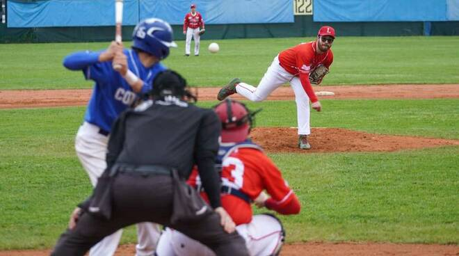 Codogno Baseball-Legnano Baseball prima gara Serie B 2021