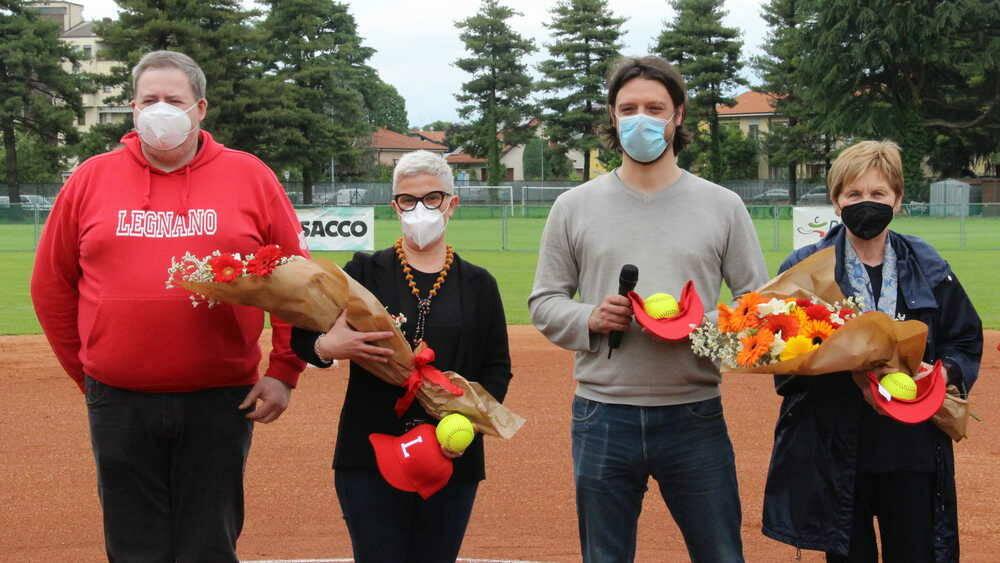 Legnano Softball-Nuove Pantere Lucca 10-0 7-0