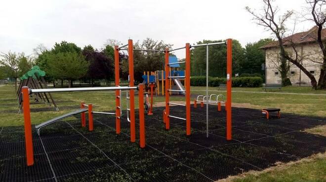 Parco Pirandello Rho area fitness