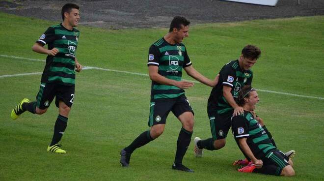 Castellanzese-Sanremese 1-0 playoff Serie D