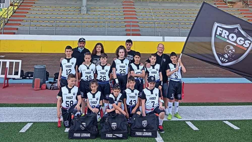 Flag Football Under 13 Frogs Legnano