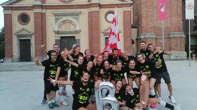 Focol Volley Legnano promossa in Serie B1